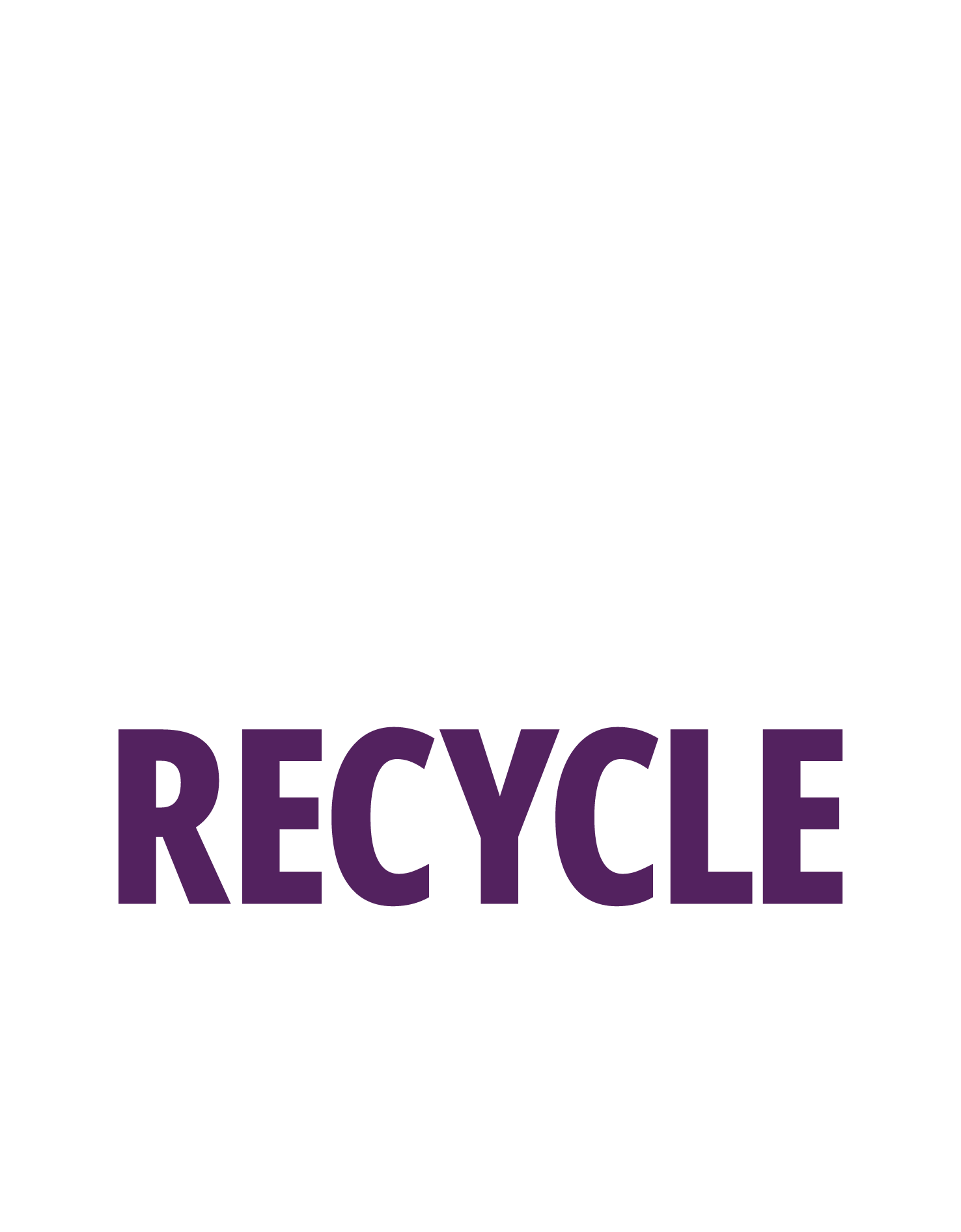 Drink Enjoy Recycle