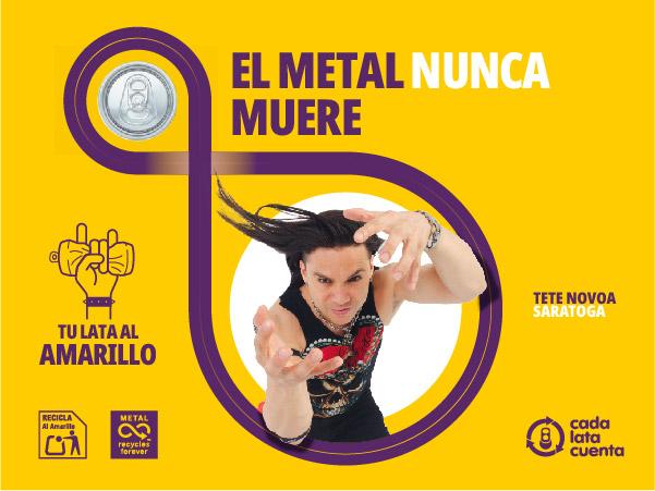 Metal Never Dies Campaign